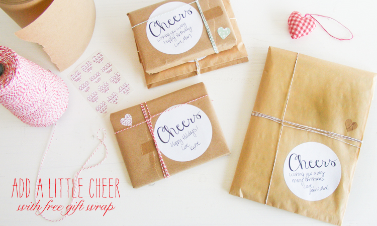 Add a little cheer with free gift wrap notes from letter c design ordering a gift from letter c design add a little cheer with free gift wrapping and a note from you you can have the gift sent wrapped and ready to give negle Images