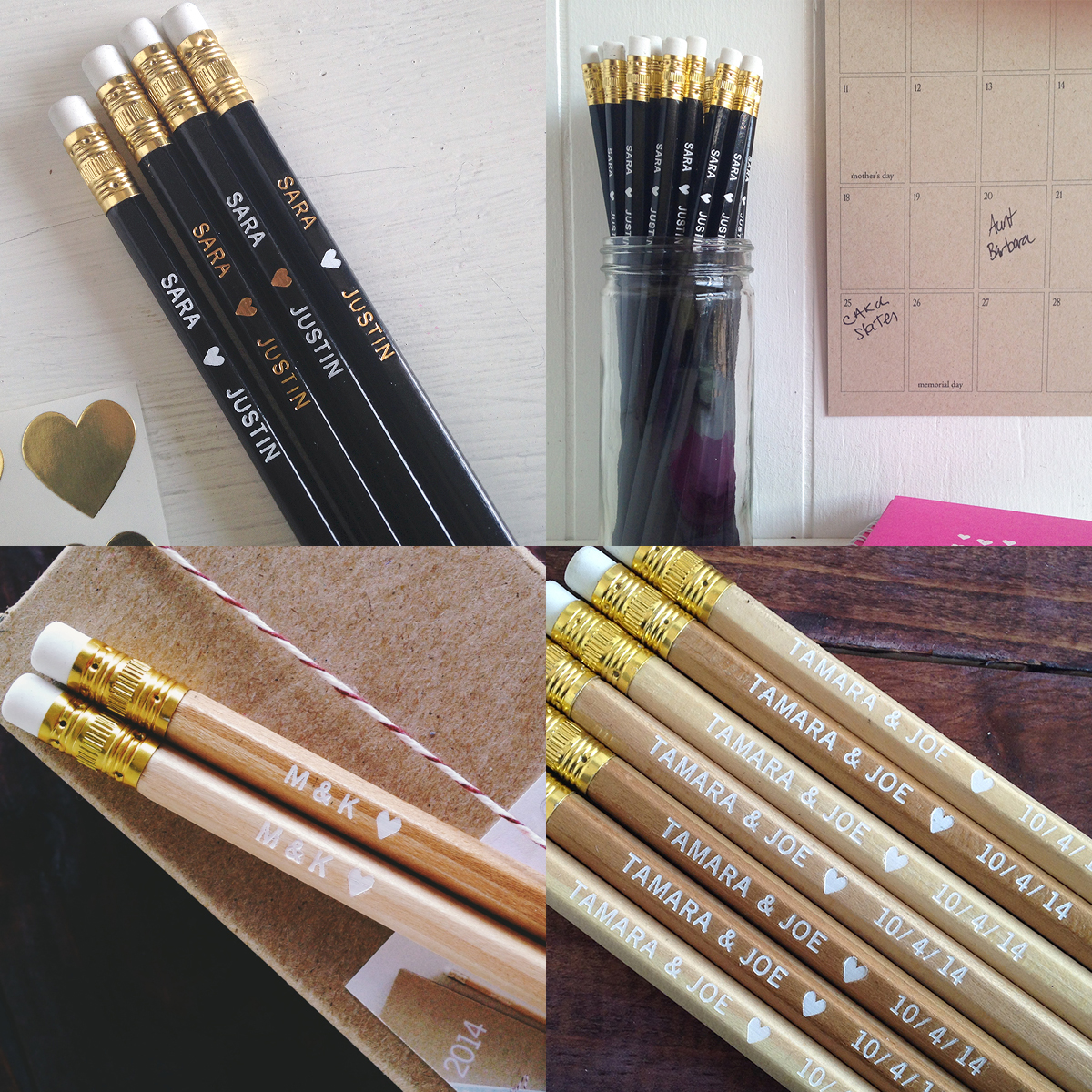 personalized_heart_pencils