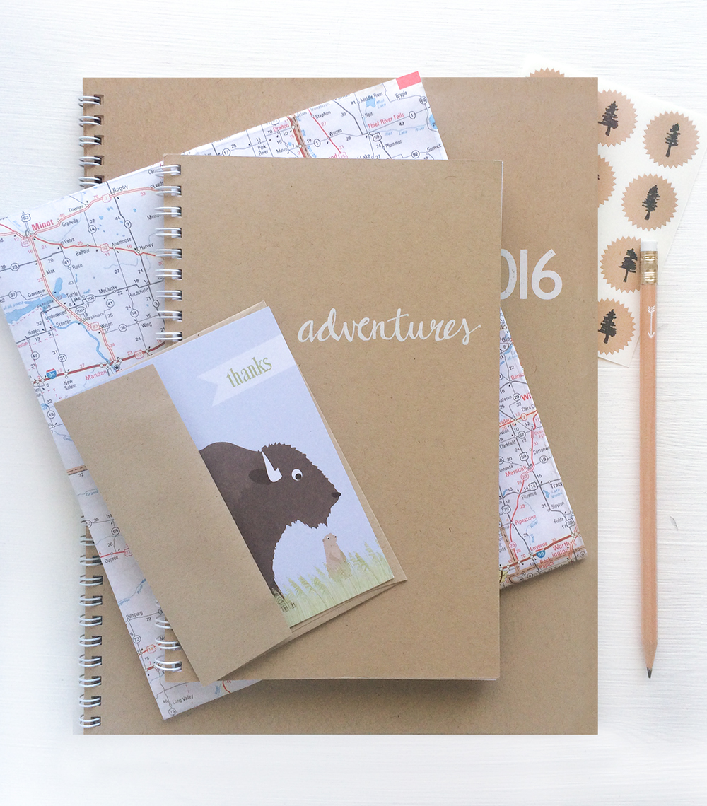 rustic notebooks