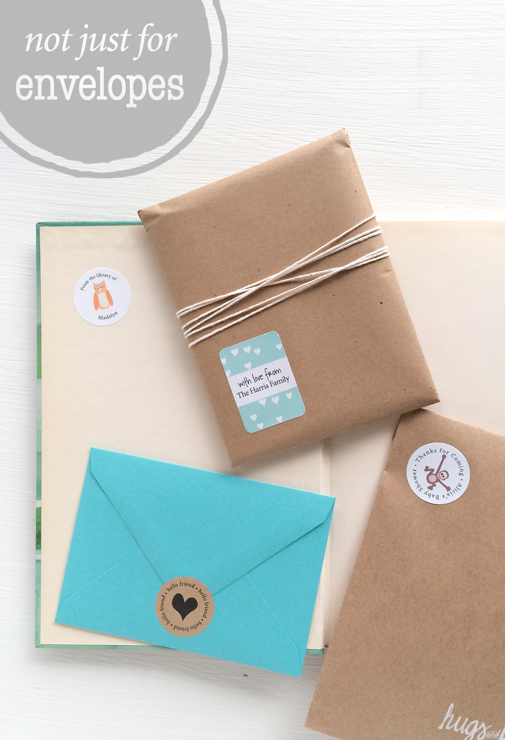 creative ways to use address labels